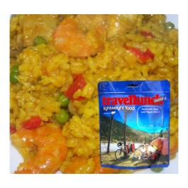 Aliment instant Travellunch Paella Gluten free 51126