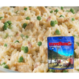 Aliment instant Travellunch Risotto Gluten free pui cu legume 51237