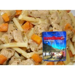 Aliment Instant Travellunch  carne de pui cu paste, morcovi si mazare 51136 LE