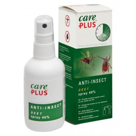 Spray antiinsecte Care Plus Deet 40 % – 60 ml.