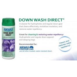 Nikwax Down Wash Direct 300 ml, detergent pentru echipament cu puf