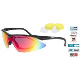 Ochelari sport – soare Goggle E680-2R cu optical clip