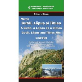 Hartă turistică Munţii Gutâi, Lăpuş şi Ţibleş
