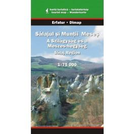 Sălajul şi Munţii Meseş, hartă turistica