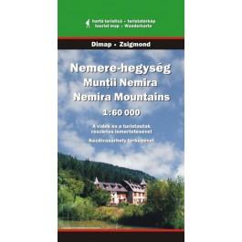 Munţii Nemira hartă turistică