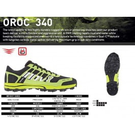Inov-8 Oroc 340, incaltaminte,pantofi orientare sportiva.