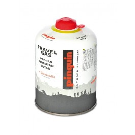 Butelie Pinguin Travel Gas 450 g