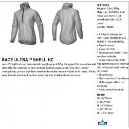 Inov-8 Race Ultra Shell, jacheta de alergare