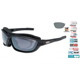 Ochelari sport / soare Goggle 417-1R, de iarna cu optical clip