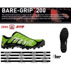 Inov-8 Bare - Grip 200, incaltaminte de alergat off trail