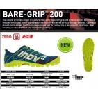 Inov-8 Bare - Grip 200, incaltaminte de alergat off trail, model 2014