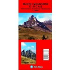 Harta turistica Muntii Ciucas- Bel Alpin