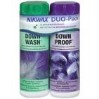 Nikwax Duo Pack, set detergent si solutie pentru impermeabilizat puf