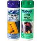 Nikwax set detergent si solutie pentru impermeabilizat imbracaminte