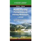 Hartă turistica Munţii Parâng