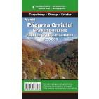 Harta turistică a Munţilor Pădurea Craiului