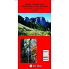 Harta turistica Muntii Postavarul si Piatra Craiului