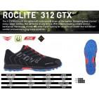 Inov  8 Roclite 312 GTX, pantof de alergat pe teren accidentat.