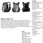 Inov-8 Race Ultra Vest 10, rucsac vesta cu sistem de hidratare